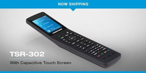 Crestron's  New Touch-screen remote